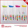 Popular Pet Plastic Clear Juice Bottle, Water Drinking Bottle, Wine Bottle