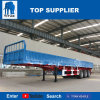 Titan 40t 60t Side Board Container Transport Semi Trailer Side Wall Cargo Flatbed Trailer