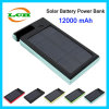 Solar Battery Charger 12000mAh Powerbank with Holder for Mobile Phone