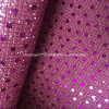 Fashion Sequin Glitter Leather for Ladies Shoes