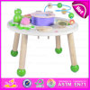 2015 Hot Educational Wooden Activity Music Table, Multi-Functional Kids Wooden Musical Table, Wooden Learning Music Table W07A090