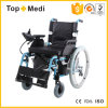 Topmedi Economic Health Products Aluminum Folding Electronic Power Wheelchair