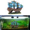 Aquarium Decoration Retro Ship for Fish Tank Resin Ornaments