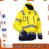 waterproof Yellow Winter High Visibility Reflective Safety Jacket