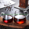 New Design Glass Coffee Maker with Handle