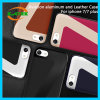 Aviation Aluminum and Leather Phone Cases for iPhone 7/6s/6