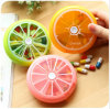 Promotional Custom Lemon Plastic Pill Box 7 Day Outside Medicine Pill Box