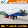 Flour/Wheat/Corn/Rice Transport Tanker Semi Trailer with Air Compressor Tank Trailer