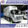 Hot Sale Small 5 Tons Foton Brand Freezer Truck for Chicken, Pork, Beef, Mutton, Fish