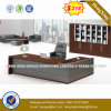 Long Jing Melamine Laminated Beech Color Office Table (HX-UN036)