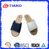 Wedge EVA Slide Slipper with PU Upper