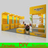 Portable Banner Display Stand in Trade Show Exhibition