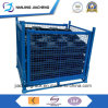 Warehouse Heavy Duty Powder Coated Foldable Wire Mesh Basket