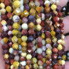 Natural Gemstone Crystal Fancy Faceted Loose Bead