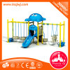 Family of Childhood Kids Plastic Playground Slide Swing