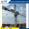 Inner Inclimbing Qtz80 6t Topkit Tower Crane for Building Construction Site