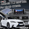 Android 6.0 Navigation Interface Box for Lexus CT200h with Rear View Touch Screen