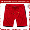 Men′s Newest Design Cheap Soccer Shorts Red (ELTSSI-21)
