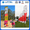 Outdoor Giant Feather Banner Flag