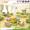 Kids Wooden Desk and Chairs Sets, Wood Nursery Classroom Furniture