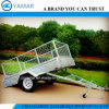 Hot Dipped Galvanized Dumping Trailer