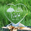 Crystal Heart Award for Love-Gift