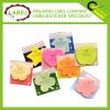 Assorted Color Self Stick Notes with Custom Design