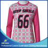 Custom Sublimation Lacrosse Long Sleeve Sporting Jersey