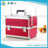 Double Open Profession Aluminum Cosmetic Case Makeup Case Beauty Case