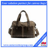Fashion Shoulder Handbag with Leather Trims