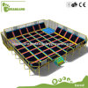 Hot Rectangle Commercial Indoor Trampoline Equipment with ASTM Standard