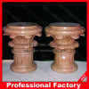 Factory Polished Red Marble Column