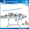 Automatic Glass & Plastic & Pet Bottle Sticker Label Labeling Machine