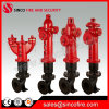 Ss100/Ss150 Pn16 Outdoor Aboveground Fire Hydrant