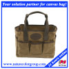 Functional Leisure Waxed Canvas Tote Bag for Shopping or Gear