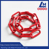 9mm G80 Alloy Steel Red Plastic Coating Lashing Chain