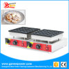 Catering Equipment Stainless Steel Factory Price Poffertjes Grill (25holes+25holes) by Electric