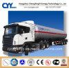 Chemical Liquid Oxygen Nitrogen Argon Carbon Dioxide Fuel Tanker Semi Trailer