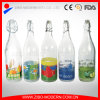 Wholesale 1L Drinking Glass Water Bottle with Hermetic Lid