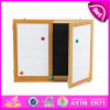 2015 Children Black and White Writing Board, Smart Black Board & White Board, High Quality Wooden Large Drawing Board W12b018