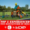 2017 Plastic Playground Material and Outdoor Playground Equipment (HD14-092A)