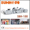 Sbh150 Full Servo Automatic Block Bottom Square Bottom Kraft Paper Bag Making Machine