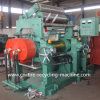 Rubber Open Two Roll Mixing Mill with Stock Blender