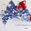 Hot Sale Floral Printing Casual Bow Tie for Men