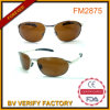 FM2875 Yellow Lens Pilot Metal Sunglasses for Driving