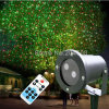 Outdoor Moving with Motor Waterproof RF Remote Control Red&Green Laser Stage Light