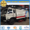 Dongfeng 6 Wheels Sweeping Machine 150 HP Road Sweeper Truck