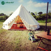 6m Bell Tent Outdoor Luxury Cotton Canvas Family Camping Bell Tents with Stove Hole Camping Tent