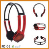 Fashion Portable Headphone Plastic Colored Headphone