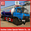 4800L Carbon Steel Sewage Suction Tanker with Tractor